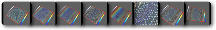 Arch generated shear bands in granular systems